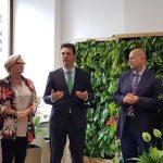 #Kreatywna Zieleń - inauguracji dokonał radca rolny Ambasady Królestwa Holandii Martijn Homan