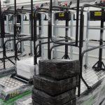 Do nowej szklarni zakupiono automatyczne wózki z firmy Precimet