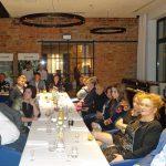 Uczestnicy spotkania andrzejkowego z firmą HM.Clause w Toruniu