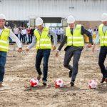 Symboliczne ropoczęcie budowy Centrum Doświadczalnego De Ruiter