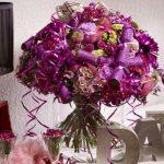chryzantemy w modnych odcieniach burgundu i fioletu