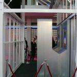Fragment ekspozycji firmy Kubo podczas targów HortiFair 2007 - wtedy po raz pierwszy pokazano fragmenty nowatorskich rozwiązań szklarni Ultra-Clima
