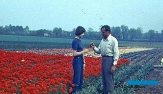Józef Cecot z córką Alicją - Grebałów, lata 70. XX w. (zdjęcie pochodzi z archiwum rodziny)