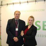 Ofertę firmy Novisem przedstawiali Renata i Piotr Zawadowie (Rol-Spec)