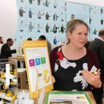 Firma Bayer prezentowała kilka bloków tematycznych, m.in. program ochrony pszczół