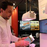 Firma Heliospectra prezentowała nowe systemy oświetleń i oprogramowań do precyzyjnej ich kontroli