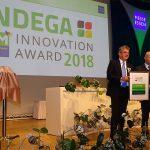 Nagrodę targów IPM Essen 2018 za techniczną innowację odebrał Uwe Dominik_Indega_Innovation_Avard_IPM-Essen-2018