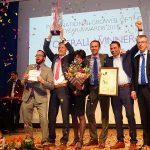 Holenderska firma Ter Laak Orchids zwycięzyła w konkursie na Międzynarodowego Ogrodnika Roku 2018 i odebrała w Essen IGOTY Award_IPM-Essen-2018