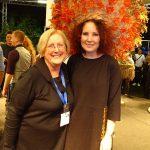Iza Tkaczyk i red. naczelna florystycznego magazynu Fusion Flowers, Alison Bradley_IPM-Essen-2018