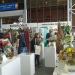 Wystawa prac florystów cieszyła się dużym zainteresowaniem zwiedzających