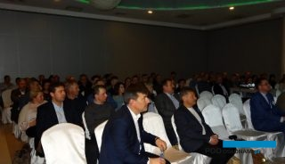 Uczestnicy seminarium zorganizowanego przez firmę Grodan w Łaszkowie