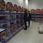 Bogatą ofertę cebul roślin ozdobnych zaprezentował Bogdan Królik
