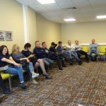 W czasie wizyty w Rosji był czas również na wysłuchanie prezentacji na temat rynku warzyw w Rosji - na sali konferencyjnej
