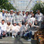 Grupa polskich ogrodników wraz z pracownikami firmy Ekokultura w Solnecznodolsku w kraju Stawropolskim oraz z organizatorami naszej ogrodniczej podróży z firm Enza Zaden i Priva