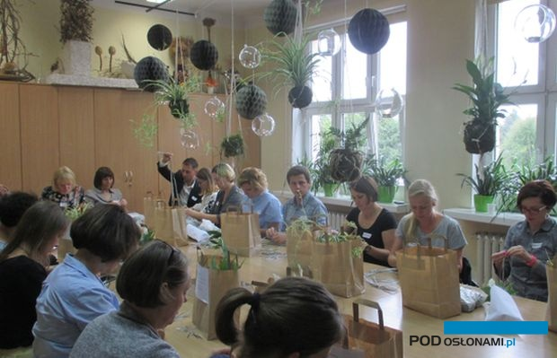 Konferencji naukowej na temat hortiterapii, organizowanej na Uniwersytecie Przyrodniczym w Poznaniu towarzyszą warsztaty