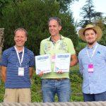 Arno Rijnbeek odebrał 2 nagrody ISU za byliny zgłoszone do oceny przez jego szkółkę: czosnek 'In Orbit' i jeżówkę 'Delicious Candy'