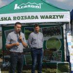 Marcin Krasoń reprezentujący Grupę Producentów Rozsad przedstawił nową ofertę firmy wdrażaną od przyszłego sezonu