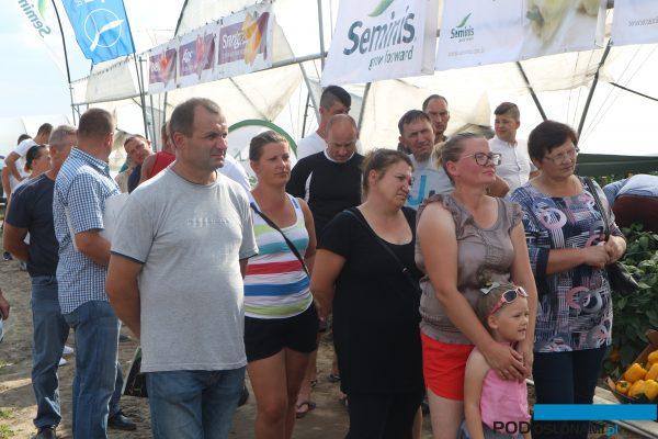 Uczestnicy spotkania w Woli Grabowskiej