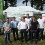 Firmę Hortico na KŚP reprezentowali (od prawej): Paweł Kulas, Krzysztof Odzioba, Grzegorz Fic, Paweł Kolasa (prezes), Kamil Pogoda, a także Mariusz Staszczyk z firmy Biocont