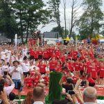 Pamiątkowe zdjęcie drużyn(y) biało-czerwonych