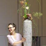 Monika Kudłacz - jedna z prezenterek pokazów florystycznych