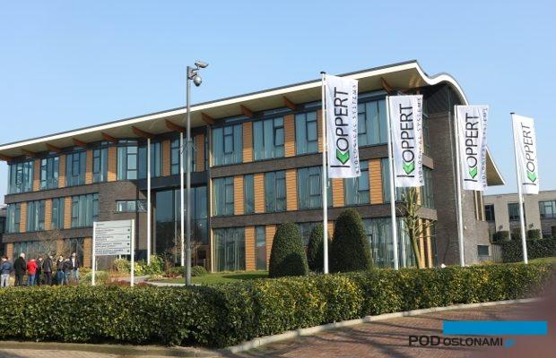 Siedziba firmy Koppert B.V. w Berkel en Rodenrijs