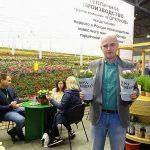Denis Kołpakow z rosyjskiej firmy Da !Rosa, która rozpoczęła produkcję doniczkowych róż - odmian z grupy Kordana