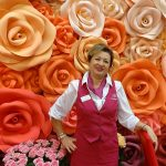 Irina Ziemcewa z rosyjskiego gospodarstwa Podosinki z uprawą róż szklarnowych na powierczchni 9 ha