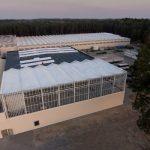 Nowe centrum badawczo rozwojowe z centrum logistycznym w firmie JMP Flowers w Stężycy
