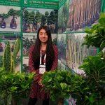 Wendy Weng z chińskiej firmy Evergreen Nurseries Agri-Tech_Flower-Show_Istanbul 2018