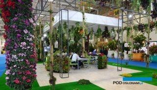 Migawka z targów roślin ozdobnych Flower Show Istanbul / Eurasia Plant Show 2018 w Stambule
