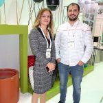 Baris Hazer i Mert Avci z tureckiej firmy Decoratime produkującej ozdobne doniczki_Flower-Show_Istanbul 2018