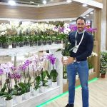 Hasan Ergoren - menedżer z firmy Gardenkoala_Flower-Show_Istanbul 2018