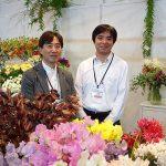 Kenichi Saito i Ryoji Kato - Japończycy z Japan Flowers and Plants Export Association_Flower-Show_Istanbul 2018