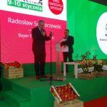 Podczas uroczystości firmę Bayer reprezentował Radosław Suchorzewski