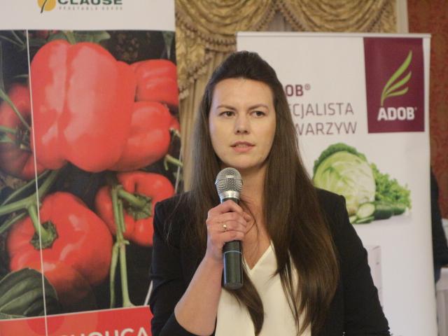 Aktualności w ofercie firmy Sumi Agro, polecane do ochrony papryki, omówiła Justyna Wasiak