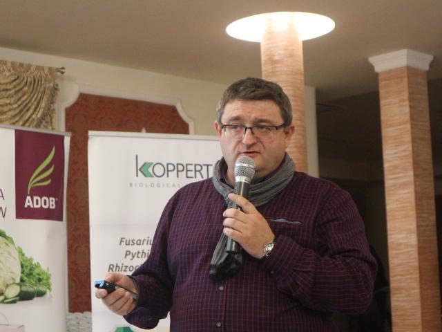 Marcin Niedobylski przedstawił zalecenia uprawowe dla papryki w warunkach wysokich temperatur