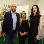 Jacek i Paulina Żakowie z firmy Gartenland (z tłumaczką Martyną Łysakowską)_Myplant and Garden 2019