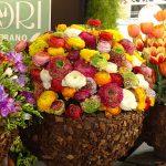 Kwiaty cięte jaskra z oferty rynku hurtowego Mercato dei Fiori Leverano z Puglii_Myplant and Garden 2019