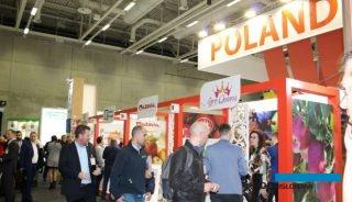 Polskie stoisko podczas targów Fruit Logistyka w Berlinie