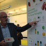 Firma CKF z Kanady zajęło trzecie miejsce w konkursie nowości - za pudełko na truskawki zaklejane z góry, nadające się do recyklingu