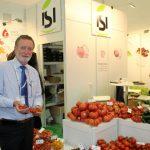 Lou Spijker z firmy Isi Sementi przedstawił asortyment odmian pomidorów