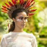 Migawka z pokazu modowo-florystycznego 2019, fot. Myplant & Garden