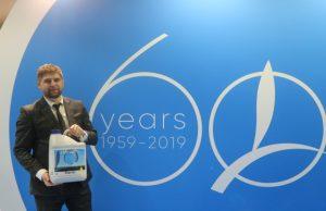 Karol Majchrowski z firmy Timac Agro, obchodzącej w tym roku 60-lecie działalności polecał nawozy z serii Fertiactyl