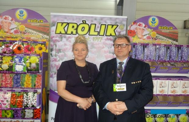 Firma prowadzona przez Bogdana Królika i jego żonę Grażynę oferowała duży wybór cebul roślin ozodbnych
