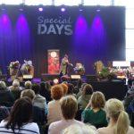 W ramach targów Special Days zorganizowano wiele pokazów florystycznych