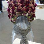 Florystyczna interpretacja czepca Bamberki - III Miejsce zdobyła praca Pawła Łuczaka z M.P. Flower Studio