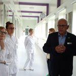 Tadeusz Kusibab i kierownictwo laboratorium_Plantin 2019