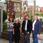 Niektórzy ze współtwórców tegorocznych Ogrodów Daisy: Krystyna Abram, Dorota Tomszak, Mateusz Milczyński, Grzegorz Brudek