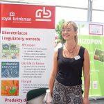 Joanna Czylok reprezentowała firmę Royal Brinkman_Dni Otwarte Plantpol 2019